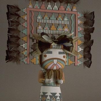 Hopi Palik Mana Kachina - Native American