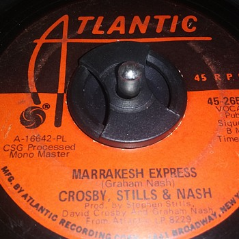 45 RPM SINGLE....#36 - Records