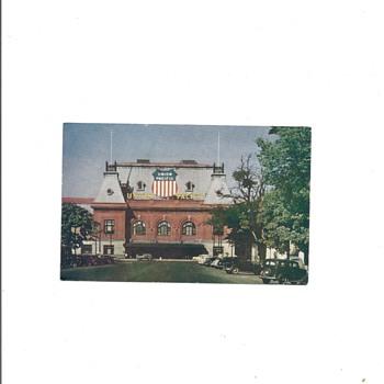 UNION PACIFIC RAIL ROAD DEPOT, SALT LAKE CITY UTAH