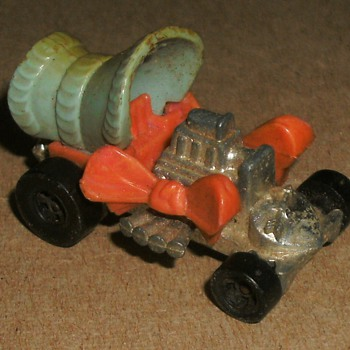 Mattel Toy Car, Hot Rod Bonnet - Model Cars