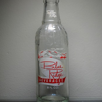 1966 Blue Ridge Soda Bottle Uniontown ACL Owens-Illinois Duraglas - Bottles