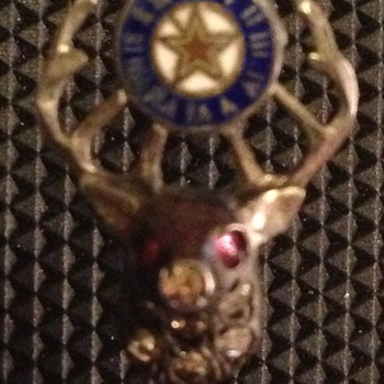 BPOE (Elks) Stick pin. - Medals Pins and Badges