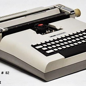 OLIVETTI LEXIKON - Electric Typewriter, Designed by MARIO BELLINI of Italy