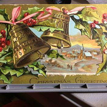 It just Arrived, Santa  - Postcards