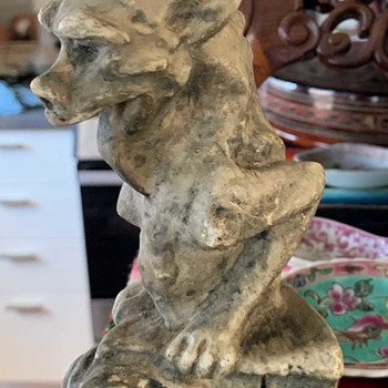 Two Interesting Gargoyles - Fine Art