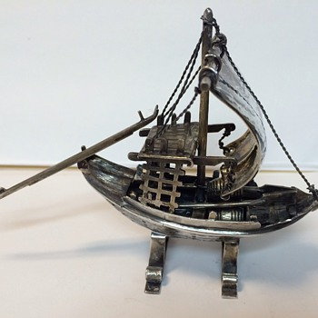 Viking ship - Silver