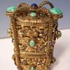 vintage jeweled perfume set