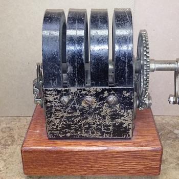 my STROMBERG-CARLSON hand crank telephone generator  - Telephones