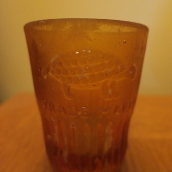 Shot glass from shipwreck - Glassware