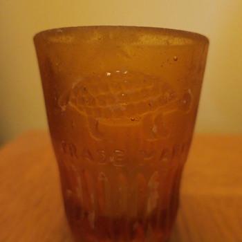Shot glass from shipwreck - Glassware