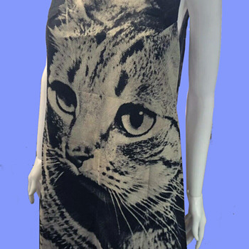 "1960's Cat Paper ""Poster Dress"" - Womens Clothing"