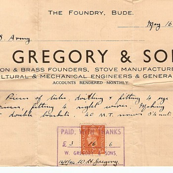 U. S. Army Receipt For Goods Dated May 16, 1944  - Paper