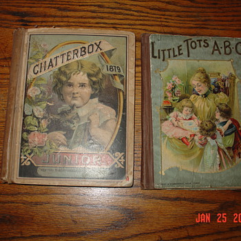 Victorian Era...1879 Chatterbox Junior & Little Tots ABC - Victorian Era