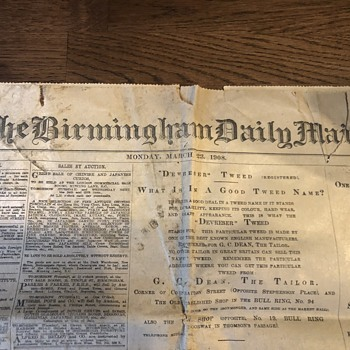 The Birmingham daily mail 23 March 1908 - Paper