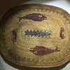 Woven Pre 1940 Native American mat.