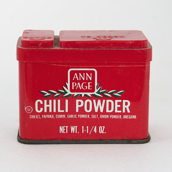 Ann Page and Ideal Spice Tins…. - Advertising