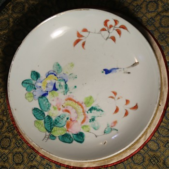 interesting little plate - Asian