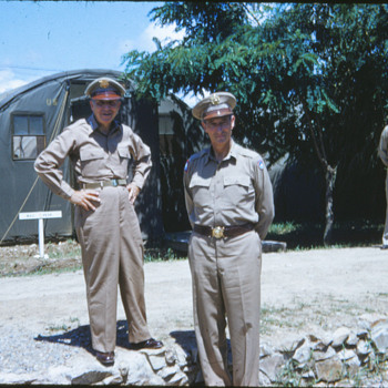 Photo from near the end of Korean War  Gen. Mark Clark - Military and Wartime
