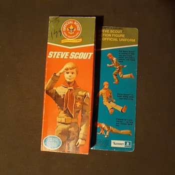 Kenner Steve Scout Mint In Box 1974 - Toys