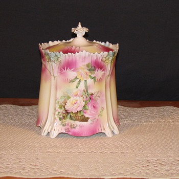 Biscuit jar icicle mold - China and Dinnerware