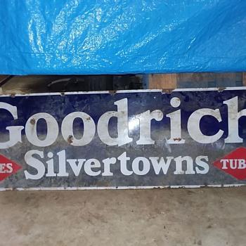 Goodrich silvertown sign  - Signs