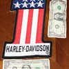 Harley Davidson #1 (number one) patch