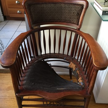 Unique antique chair from Massachusetts