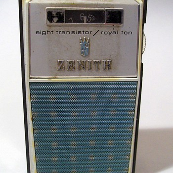 ZENITH ROYAL TEN - TRANSISTOR RADIO