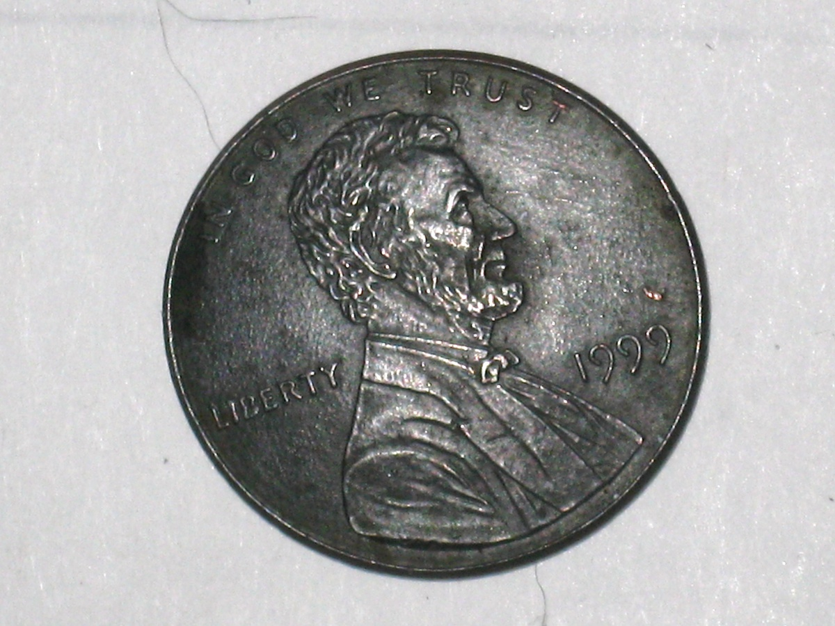 error lincoln penny 1999 dome shape | Collectors Weekly