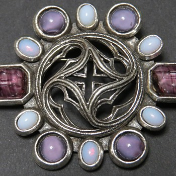 Miracle Brooch - Celtic Design - Costume Jewelry