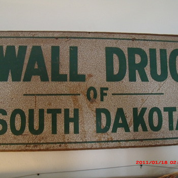 Wall Drug Sign - Advertising