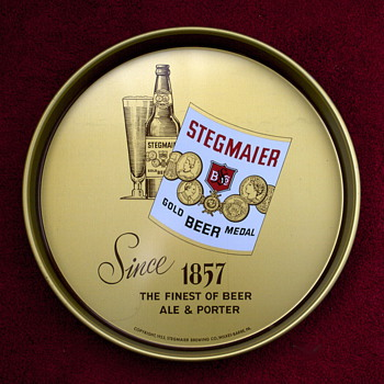 Four Stegmaier Beer Items