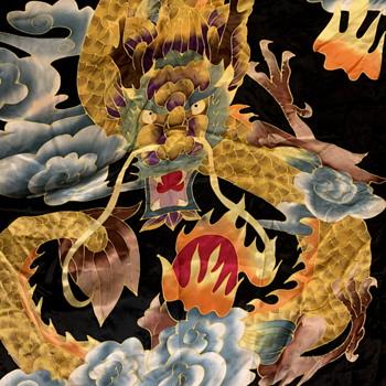 Chinese Silk Robe - Asian