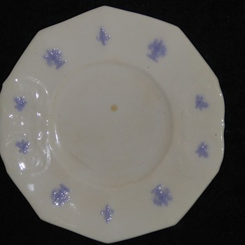 Old plate - China and Dinnerware