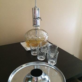 Merry Go Round Shot Glass Dispenser