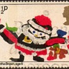 """1981 - Britain """"Christmas"""" Postage Stamps"""