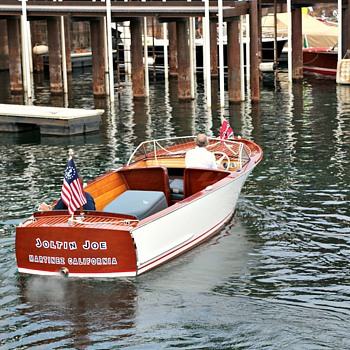 "The ""Joltin Joe"" 1948 Chris Craft Boat"