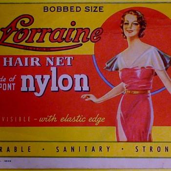 Lorraine Hair Net Packages With Nets Enclosed - Advertising