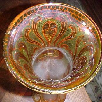 Dorflinger Honesdale American Cameo Vase - Art Glass