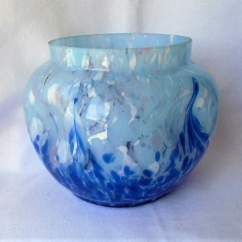 A new piece of Ruckl Czech glass turns into another mystery attribution - Art Glass