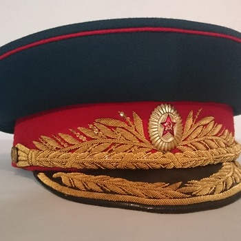 Soviet Parade Visor Cap of an Army General (early version) - Military and Wartime