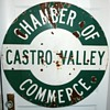 Porcelain Sign - Castro Valley Chamber of Commerce