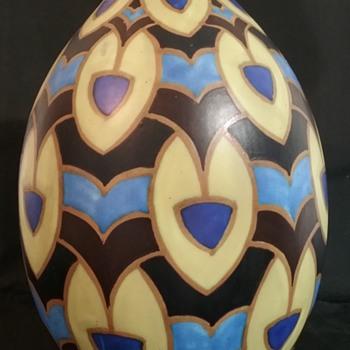 Charles Catteau D1422 vase - Pottery