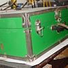Green Steamer Trunk