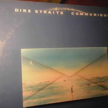 """Dire Straits """" Communique """"  - Records"""