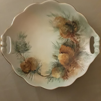Moritz Zdekauer Porcelain  Candy Dish, Hand Painted by Chapman - China and Dinnerware
