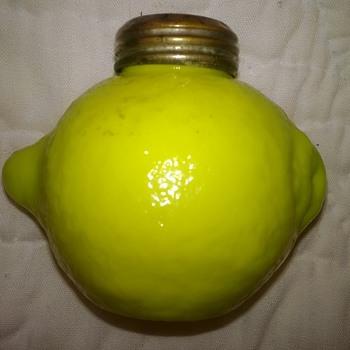 Lemon Shaker, Yes Lemon! - Art Glass