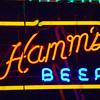 Hamms neon sign