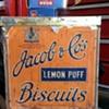 Jacob & Co's lemon puff cube shaped tin