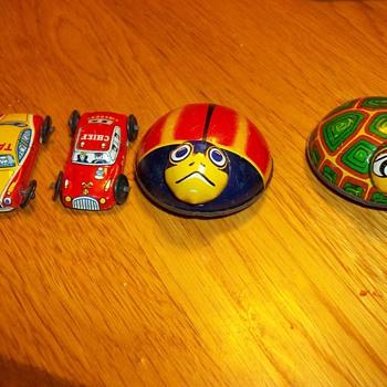 Vintage tin toys - Toys